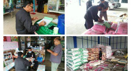 ตรวจติดตามร้านค้าจำหน่ายปัจจัยการผลิตทางการเกษตร