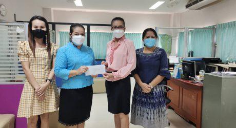 มอบเงินร่วมบริจาคช่วยเหลือในสถานการณ์โควิด-19 ให้กับโรงพยาบาลยางตลาด เป็นจำนวนเงิน 5,000 บาท